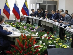 The 16th Russia-Venezuela High Level Intergovernmental Commission (CIAN) met in Caracas on Saturday, signing 264 agreements. (VTV)